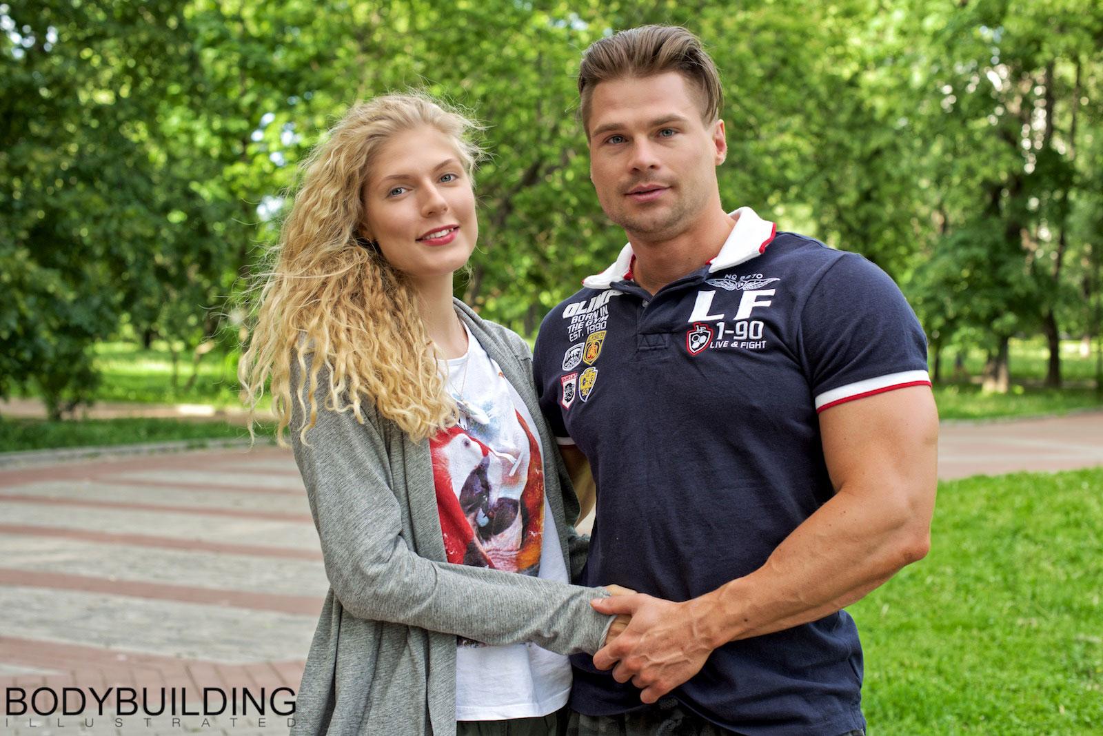 Денис Гусев и Ксения Комиссарова