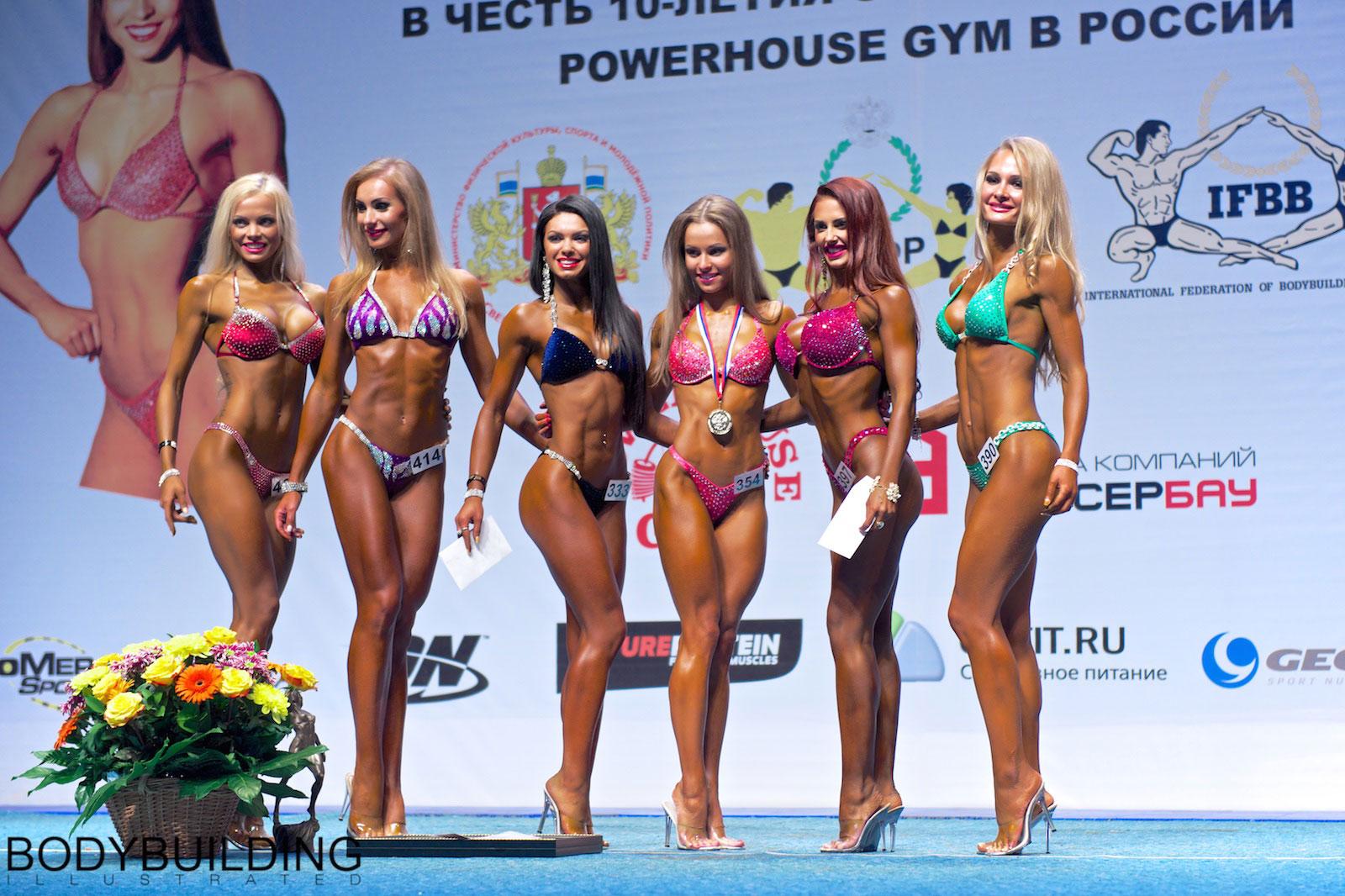 Елизавета Мукминова - Чемпионат России по бодибилдингу и фитнесу 2014, Екатеринбург
