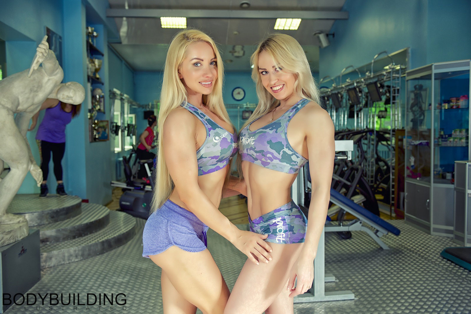 Екатерина Красавина и Людмила Никитина