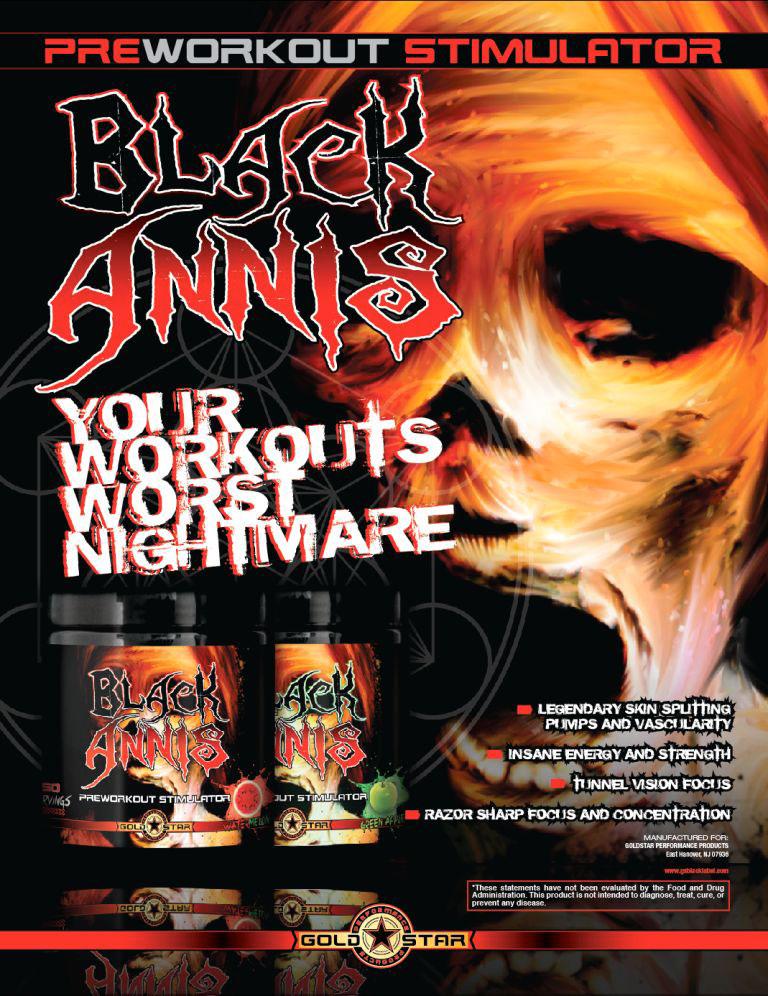 Goldstar BLACK ANNIS – Рекламный баннер