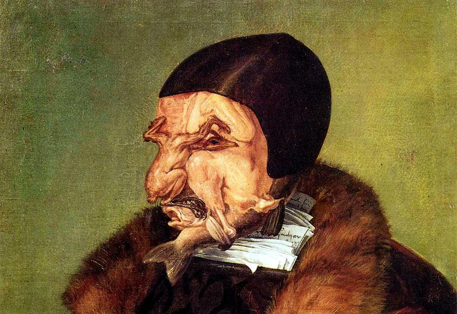 Джузеппе Арчимбольдо. Название картины неизвестно