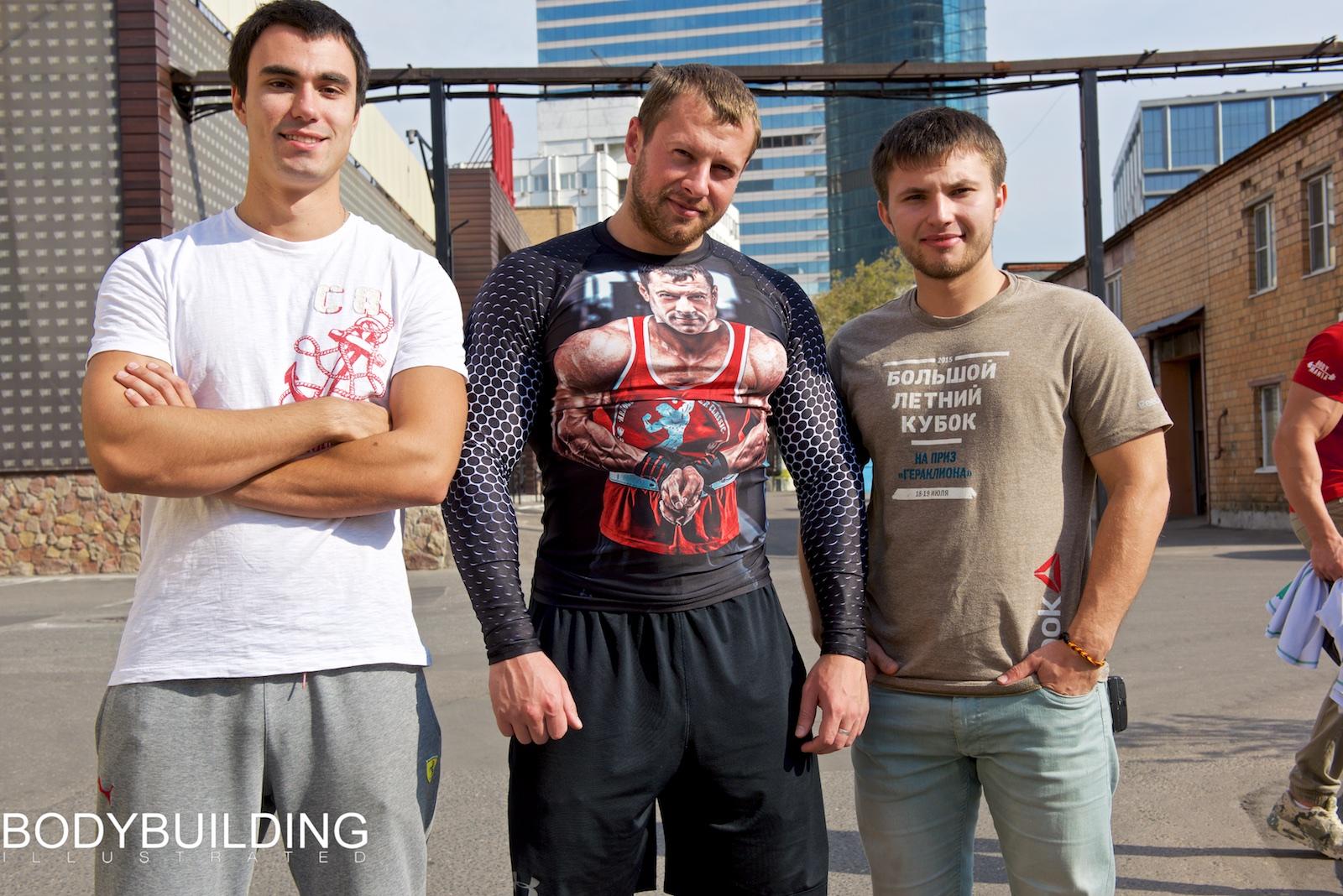 Макар Готовцев, Алексей Шаев и Сергей Гаврильченко