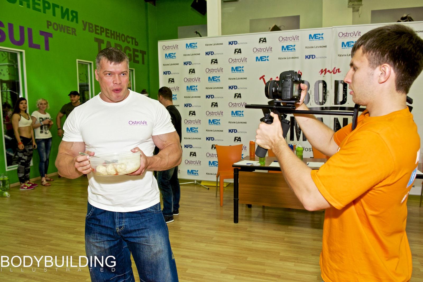 Андрей Макеев и Сергей Гаврильченко