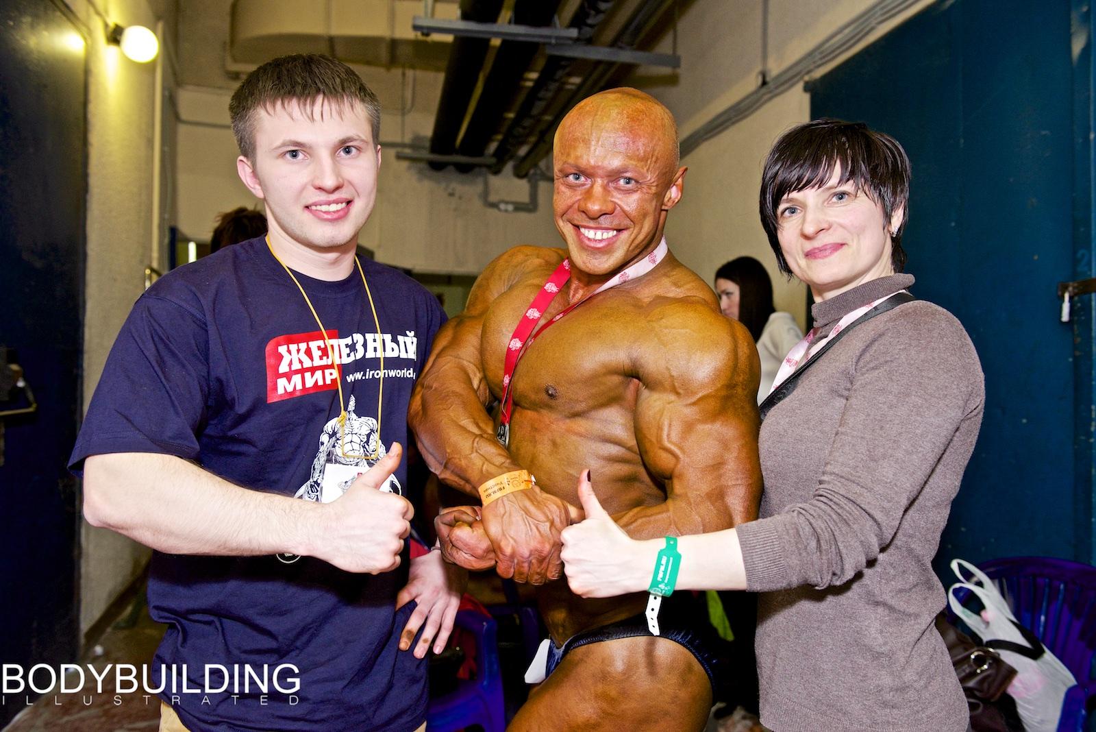 Сергей, Эдуард и Наталья Гаврильченко