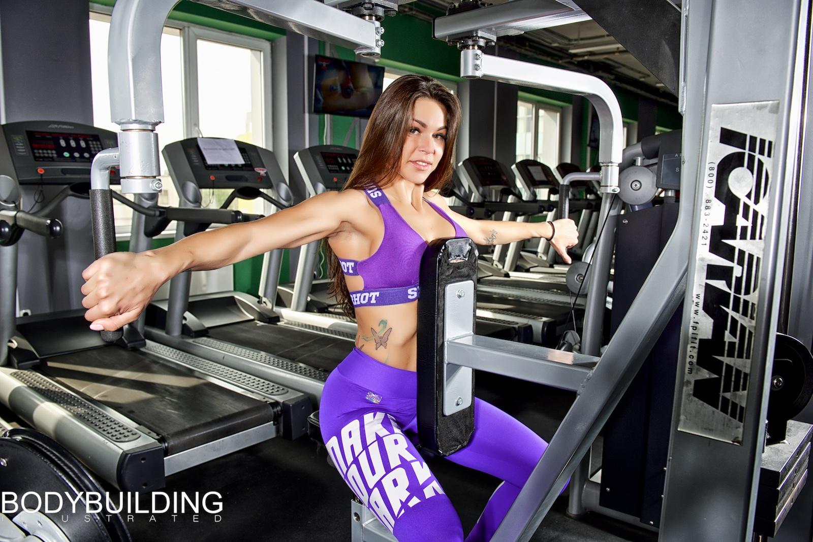 Алена Доманская,  Bodybuilding Illustrated