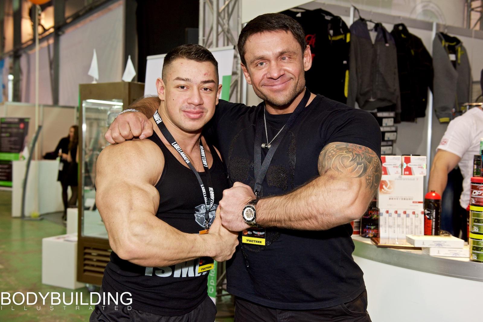 Игорь Байков и Далер Исматов