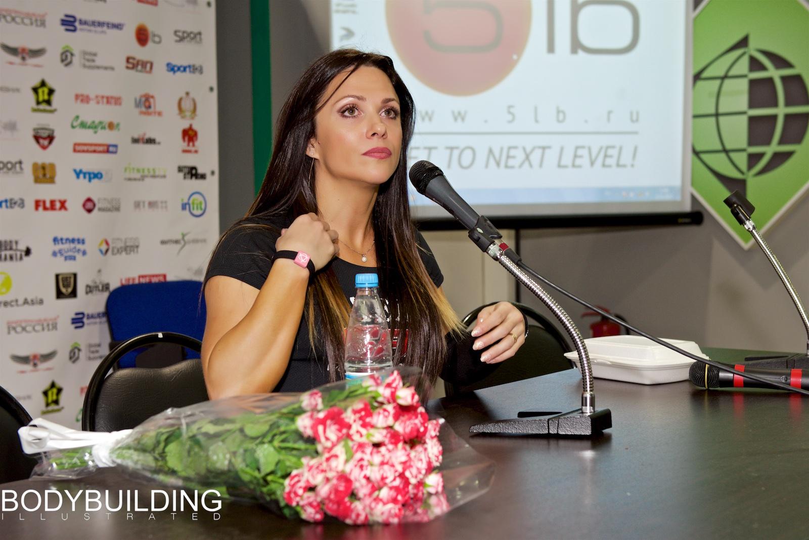 Оксана Гришина, ноябрь 2015 г.