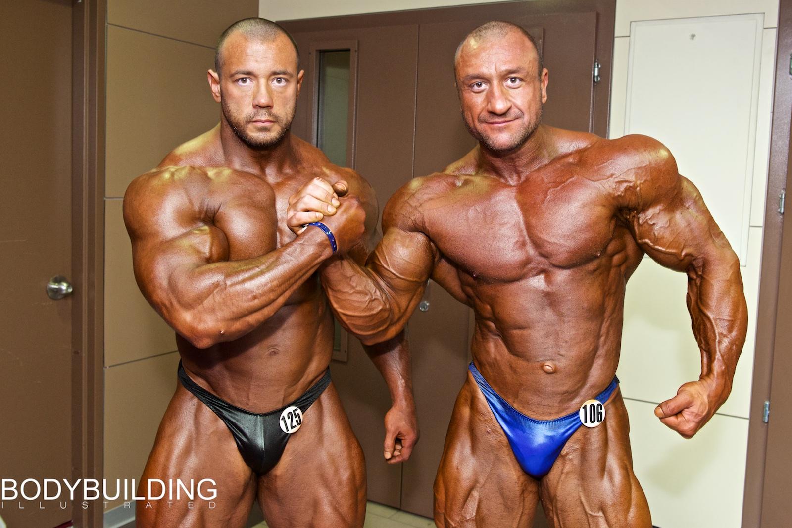 Алексей Тронов и Владислав Фатьянов, Olympia Amateur Moscow (IFBB), 2014г.