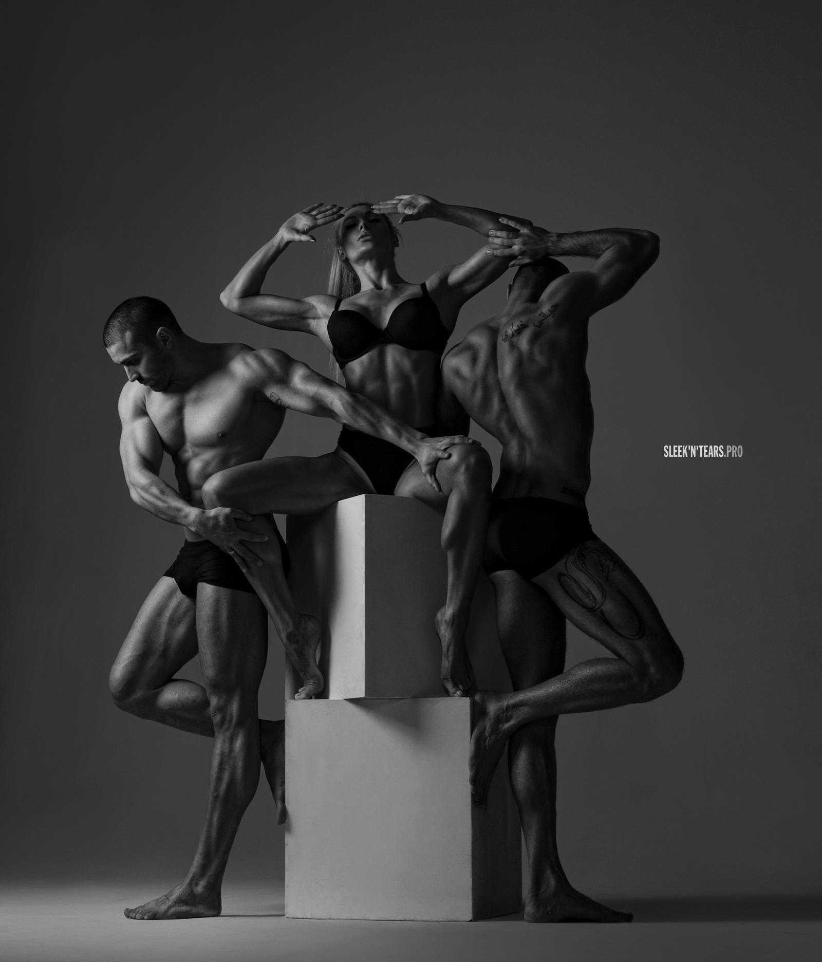 Проект фотохудожника Кристы Судмалис © SLEEK'N'TEARS