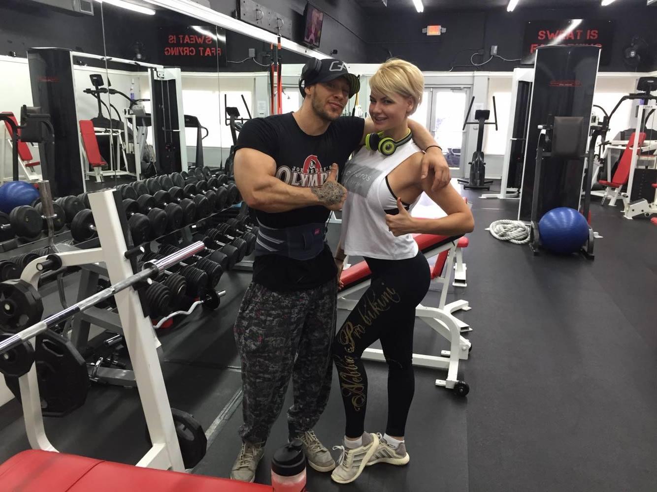 Антон Антипов и Анна Стародубцева