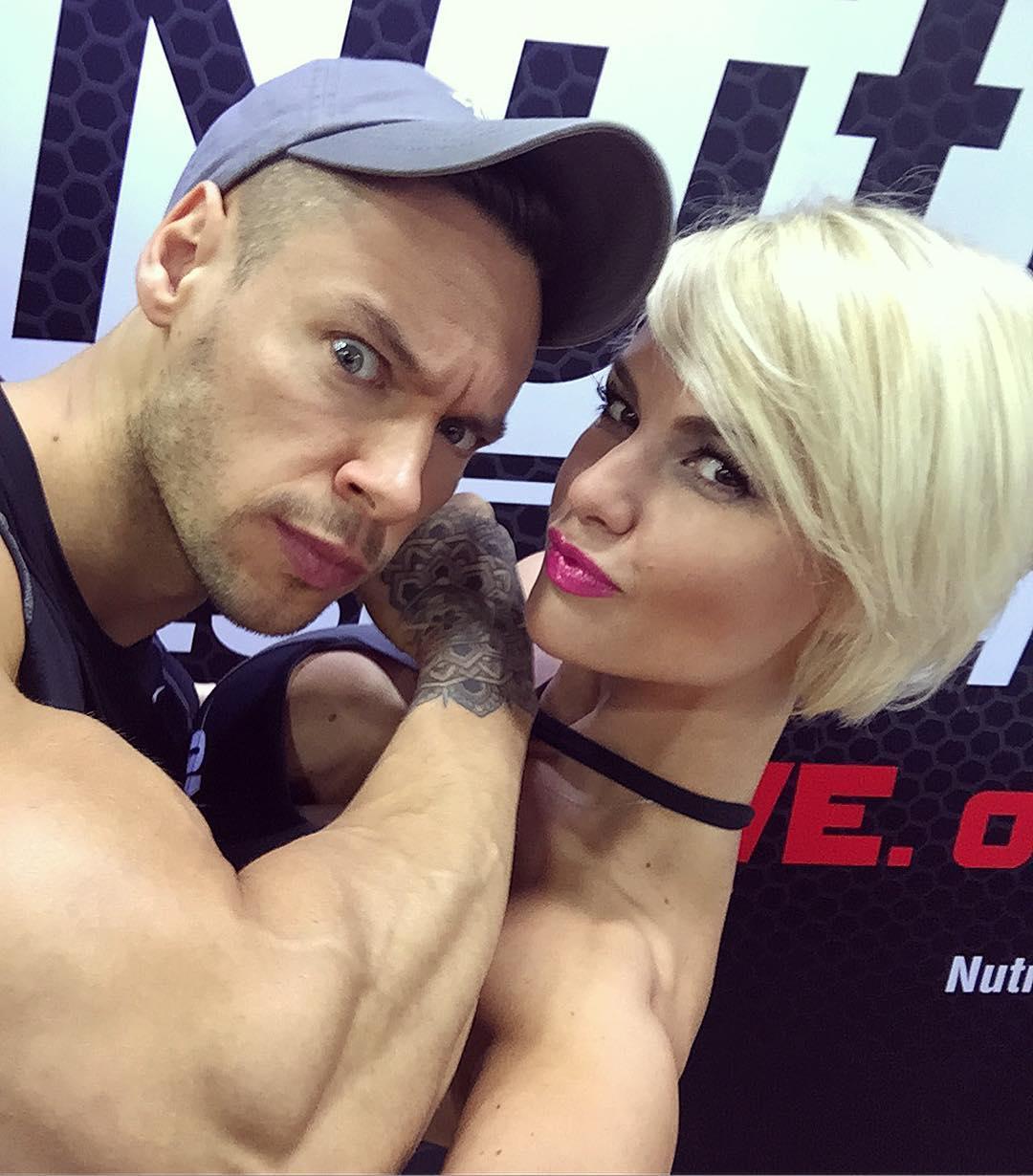Анна Стародубцева и Антон Антипов, фото Instagram