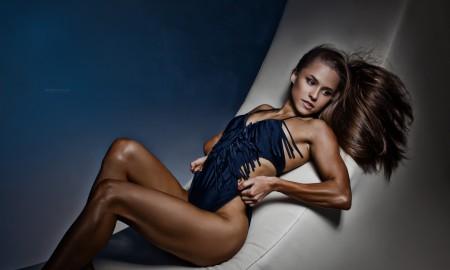 Елизавета Мукминова приветствует Men's Physique & Bikini Stars