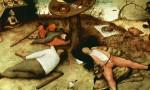 Питер Брейгель Старший. Страна лентяев (1567)