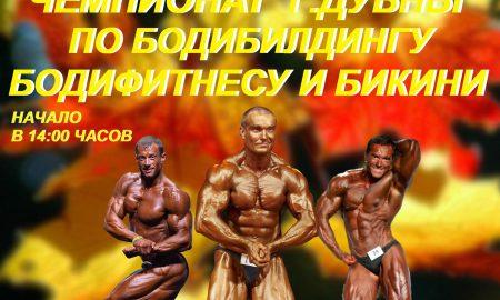 Чемпионат г. Дубны по бодибилдингу, фитнесу и бикини.