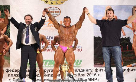 Открытый Чемпионат ЦФО по бодибилдингу. Фото Игоря Киреева.