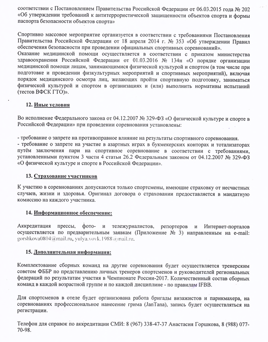 Чемпионат России по бодибилдингу 2017 Астрахань